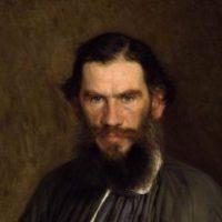 Рисунок профиля (Лев Толстой)